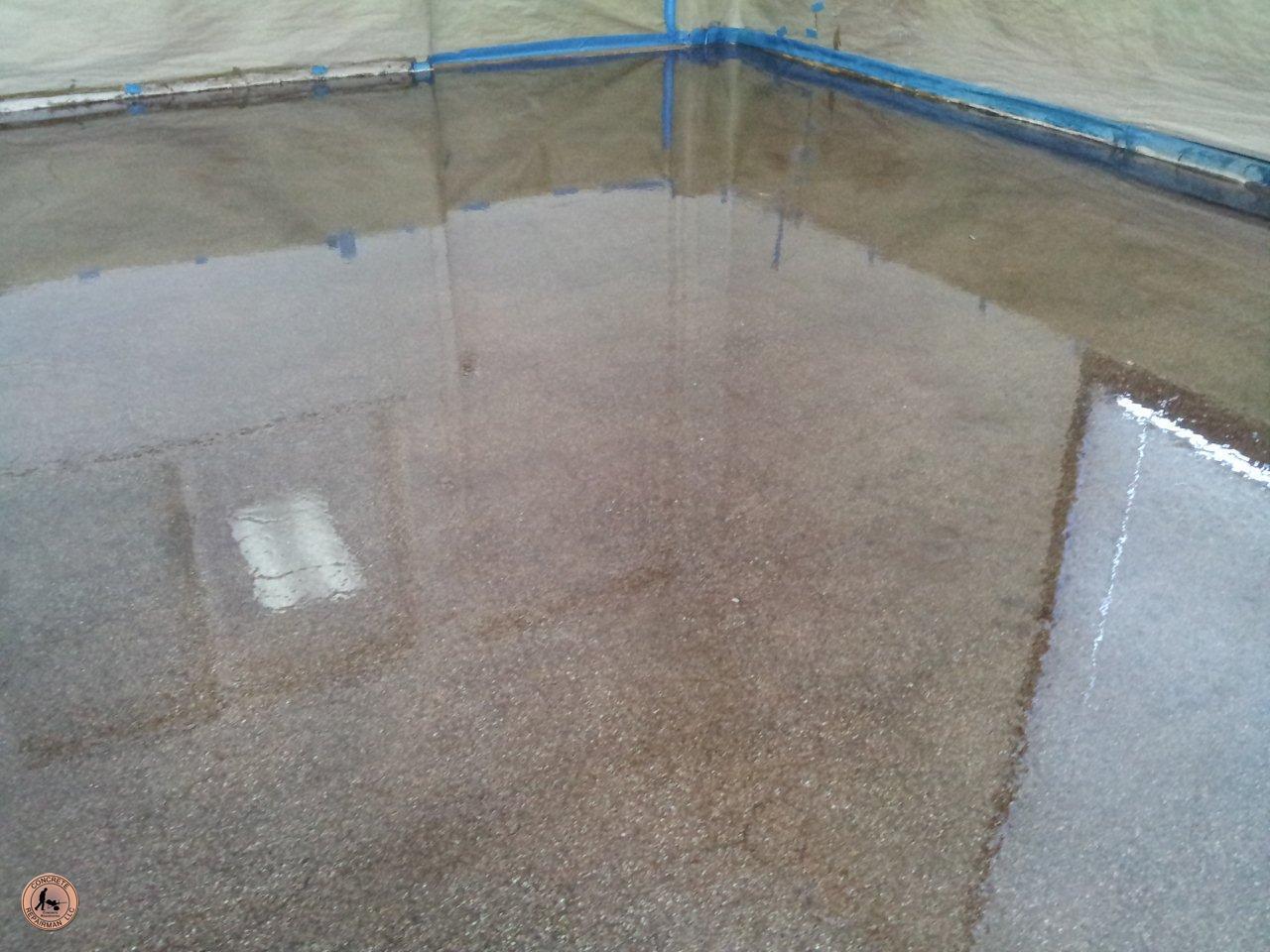 Acid Stain Concrete Sealer