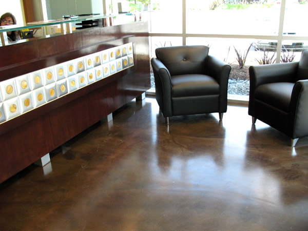 Stained Concrete Photos and Pictures