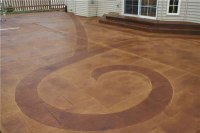 Ideas for Creative Stained Patios