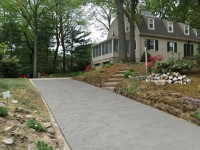 Distinguished Concrete Driveway Finish Haddon Twp NJ