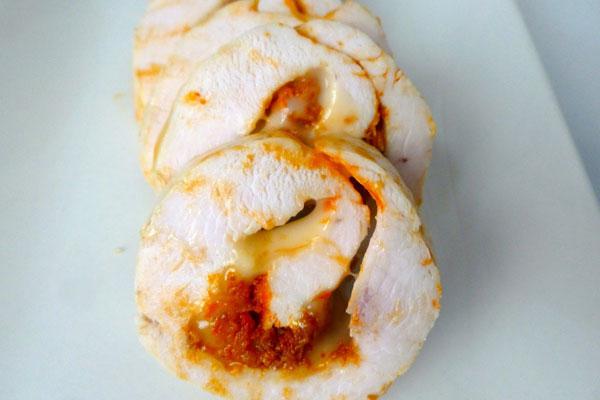 Pechuga con sobrasada y queso – receta