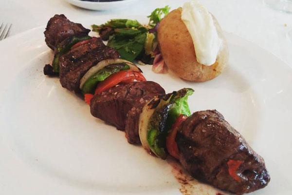 Brocheta Milonga's en Restaurante Milongas