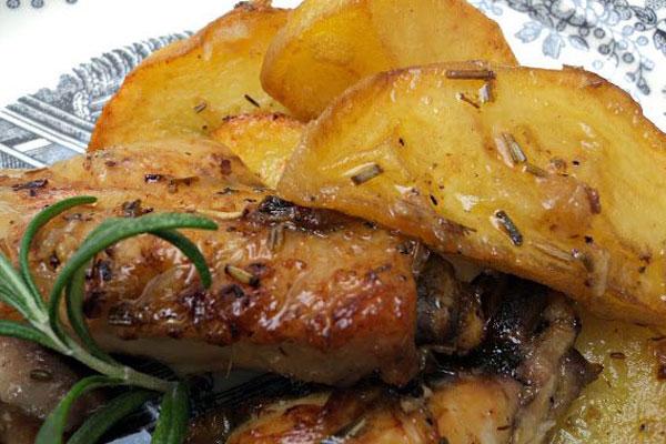 Pollo al ajillo – receta