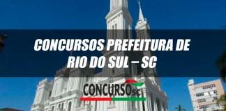 Concursos Prefeitura de Rio do Sul