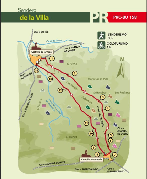 Mapa PRC-BU-158