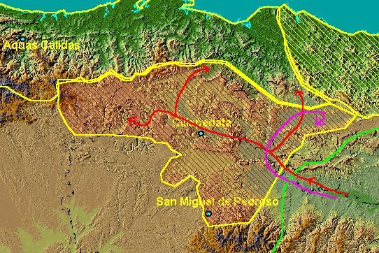 El territorio castellano entre el 750 y el 792