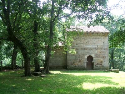 Ermita de San Román de Moroso en Bostronizo