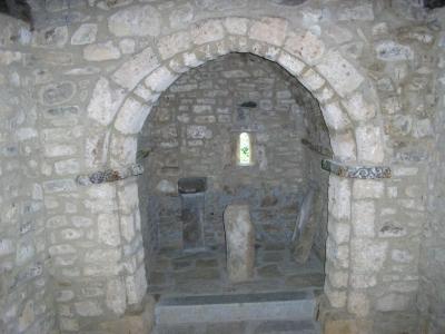 Altar y tenante de San Andrés de Enterría