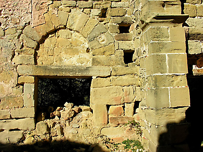 detalle del arco de herradura de santa maria de barrio en cellorigo 20140113 1661336833