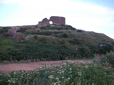 Restos de la población de Sajuela de Yuso