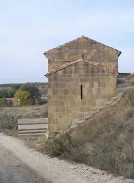 Cabecera de San Martín de la Nava en San Vicente de la Sonsierra (La Rioja)