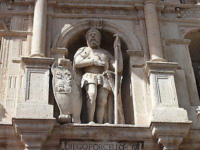 Diego Rodríguez, Porcelos, segundo conde de Castilla y fundador de Burgos y Ubierna