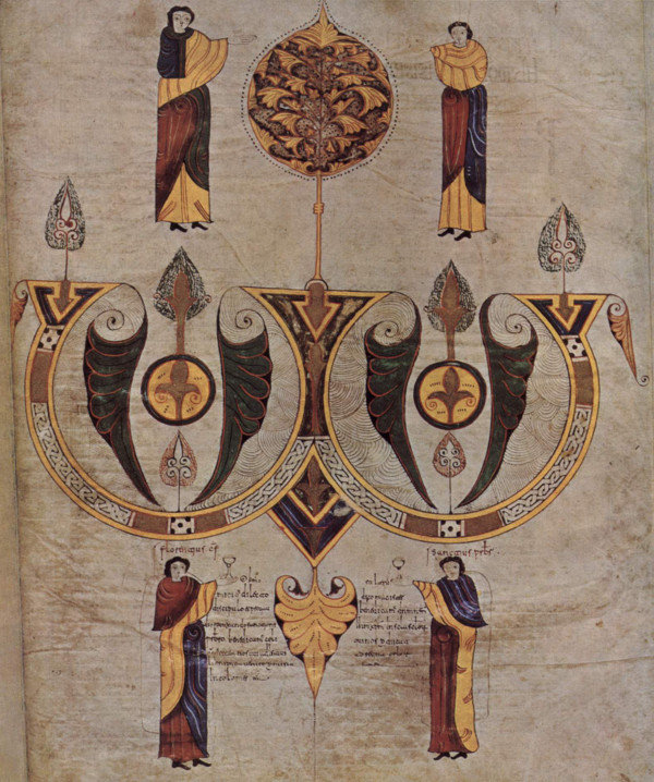 Página final (fol. 514) de la Biblia de San Isidoro de León