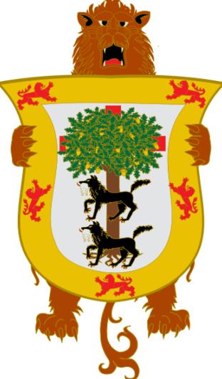 Escudo histórico de Vizcaya s XV a XIX