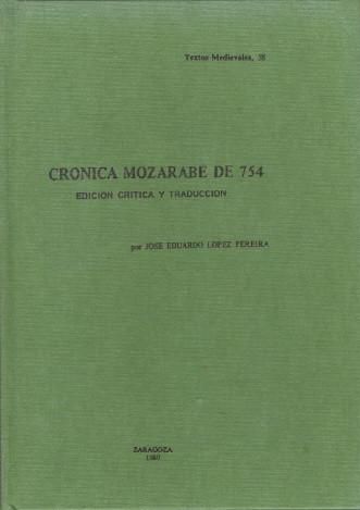 Crónica mozárabe de 754 Book Cover