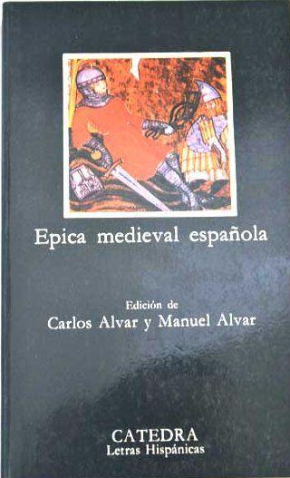 Épica medieval española Book Cover