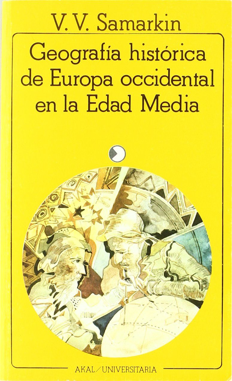 Geografía histórica de Europa occidental en la Edad Media Book Cover