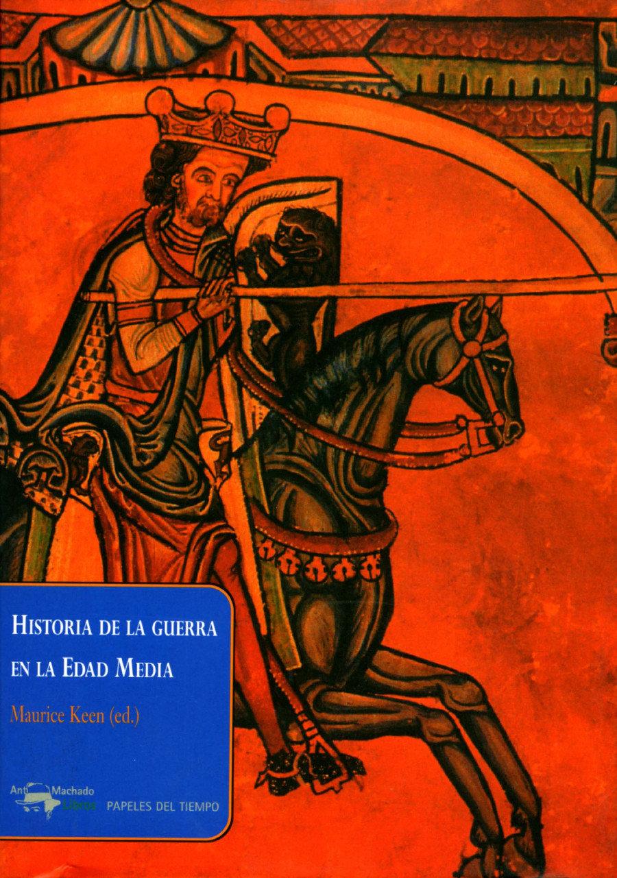 Historia de la guerra en la Edad Media Book Cover