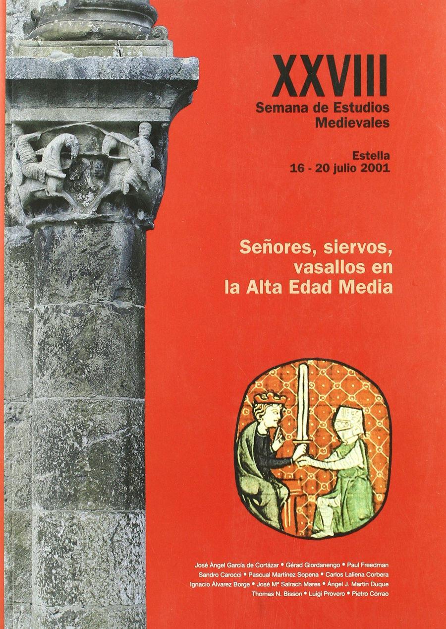 Señores, siervos, vasallos en la Alta Edad Media Book Cover
