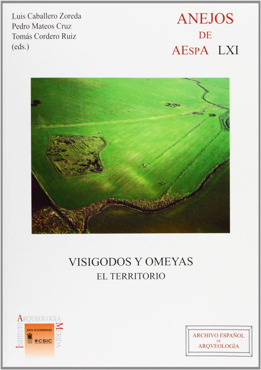 Visigodos y omeyas: El territorio Book Cover