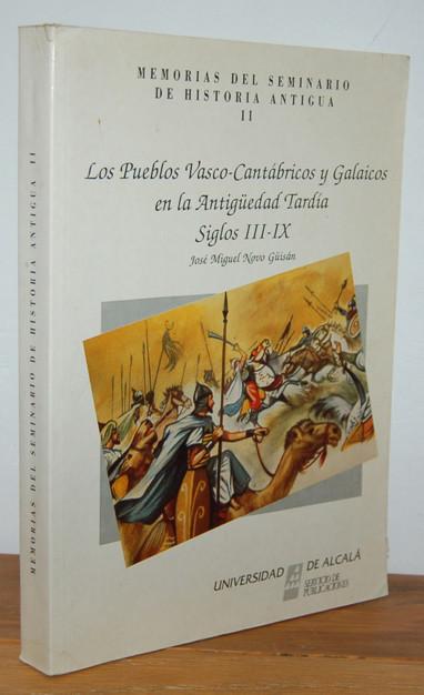 Pueblos vascos-cantábricos y galaicos en la antigüedad tardía Book Cover