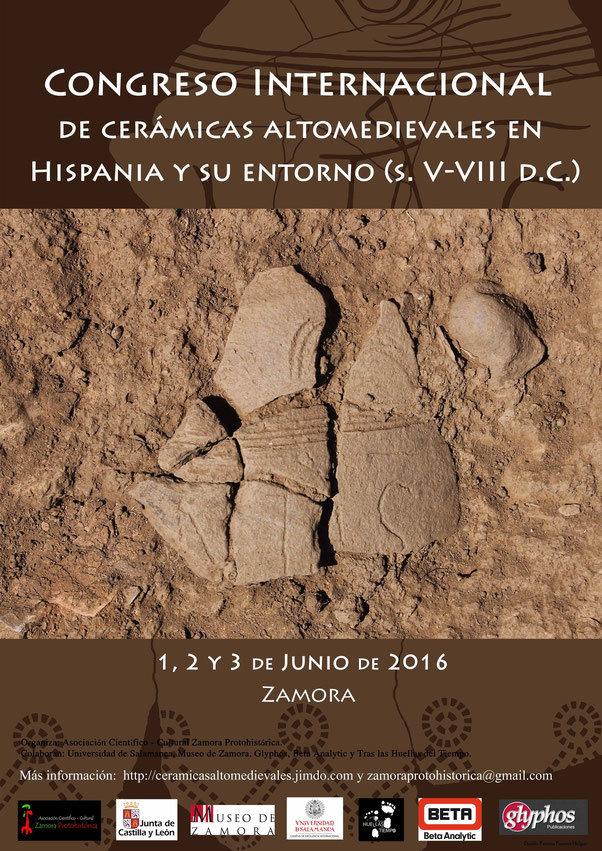 Congreso Internacional de Cerámicas Altomedievales en Hispania (s. V - VIII)