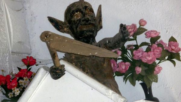 Demonio de la iglesia de Paraxís