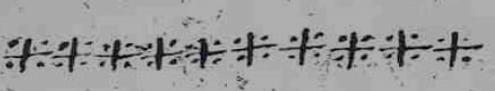 Signos en forma de cruz de suscripciones testificales. Copia B de la Carta de Brañosera