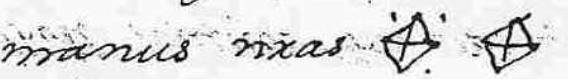 Signos de los condes Femán González y Urraca Copia A Carta de Brañosera