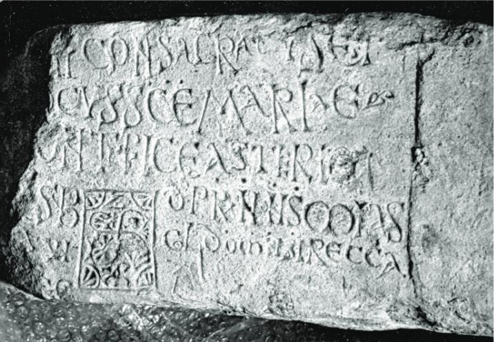 Lápida consagración Santa María de Mijangos (601)