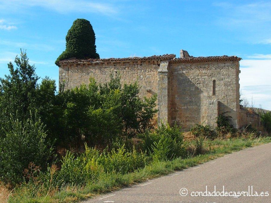 Ruinas de la ermita de San Salvador de Tamarón (Burgos)