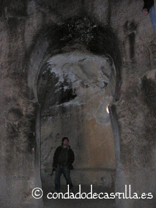 Arco de herradura en Arroyuelos