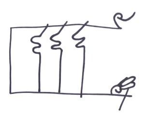 Signo de Diego Muñoz en la documentación altomedieval
