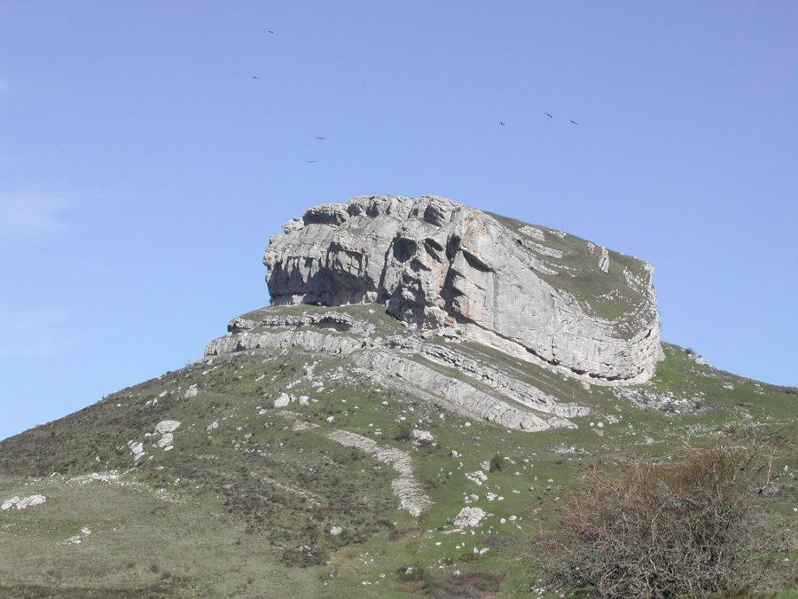 Peña Castillo en Ordejón de Arriba