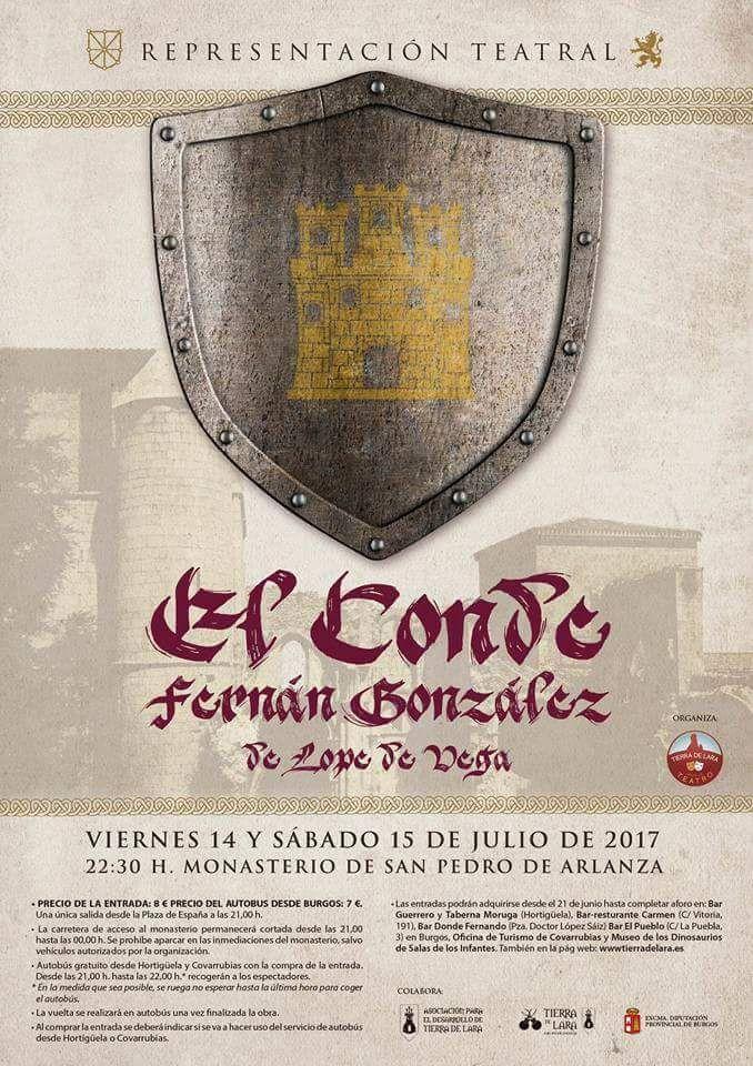 Representación El conde Fernán González de Lope de Vega 2017