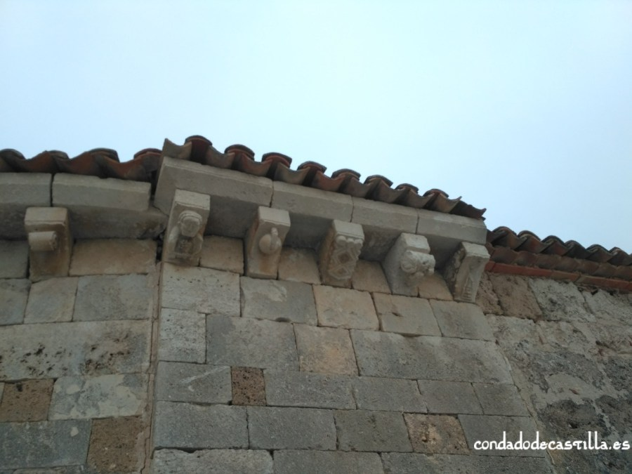 Canecillos románicos de Santa María de Cárdaba