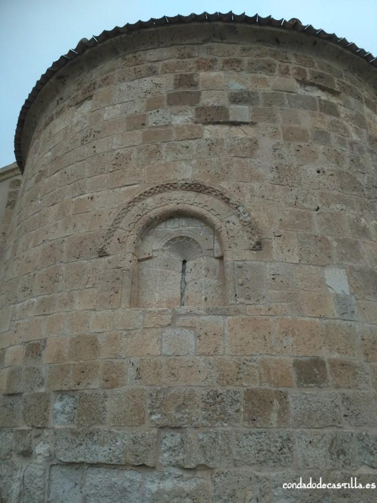 Ábside de la iglesia de Santa marina de Sacramenia