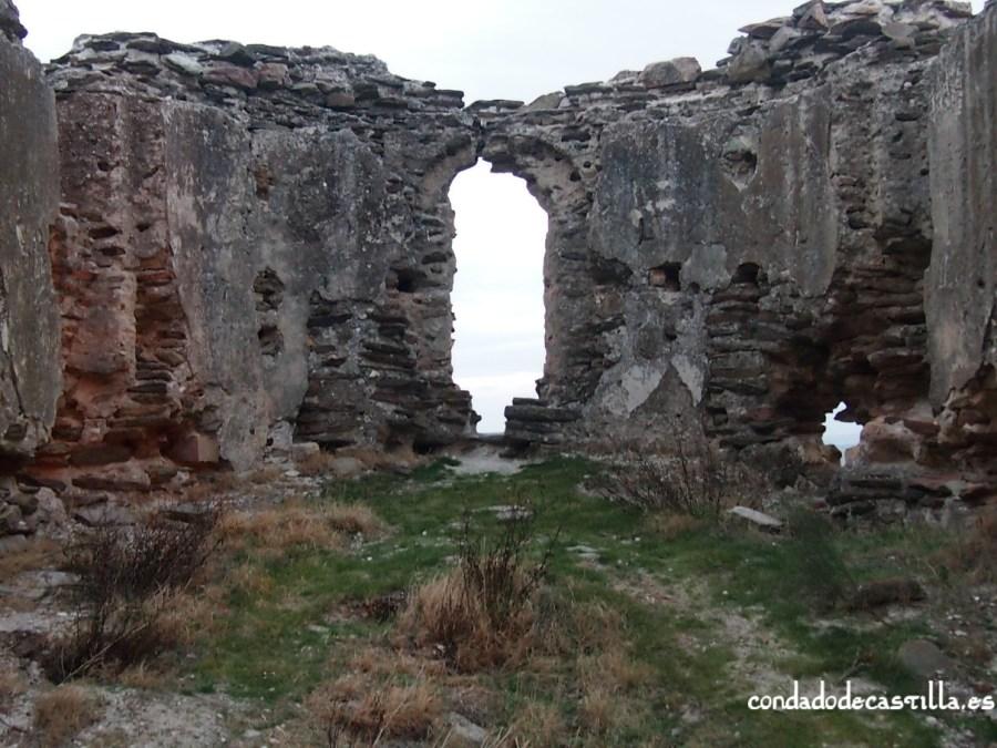Interior ermita de San Isidro (Domingo García)
