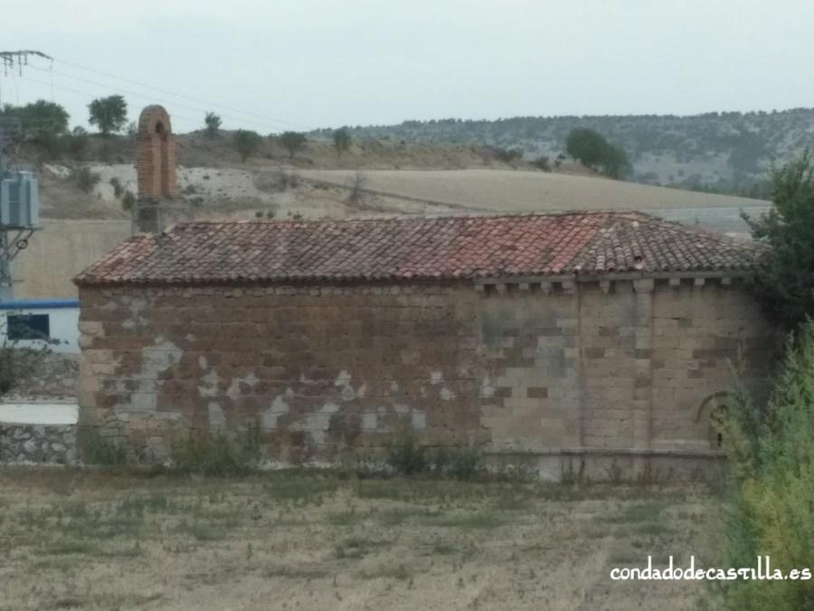 Muro sur de la nave de Santa María de Cárdaba
