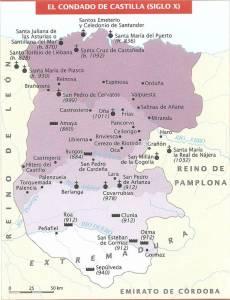 Condado de Castilla hacia el 970