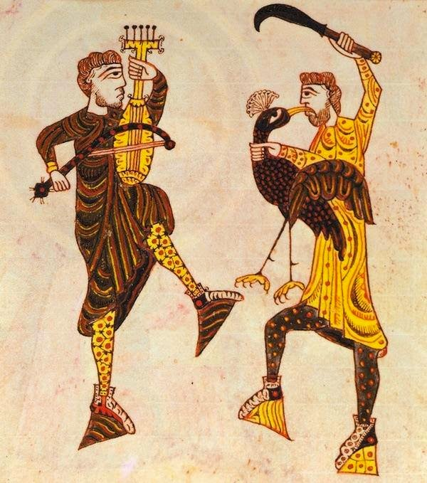 Cardillo: el juglar más antiguo conocido en España – Historia del Condado  de Castilla