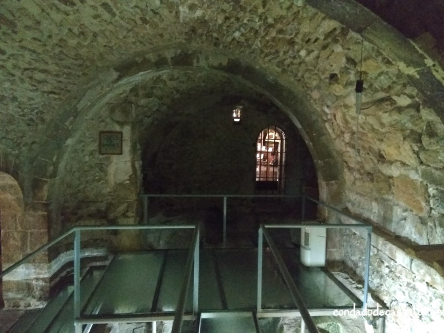 Cripta de la Iglesia de Santiago de Sepúlveda