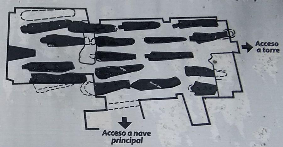 Necrópolis de la iglesia de Santiago en Sepúlveda
