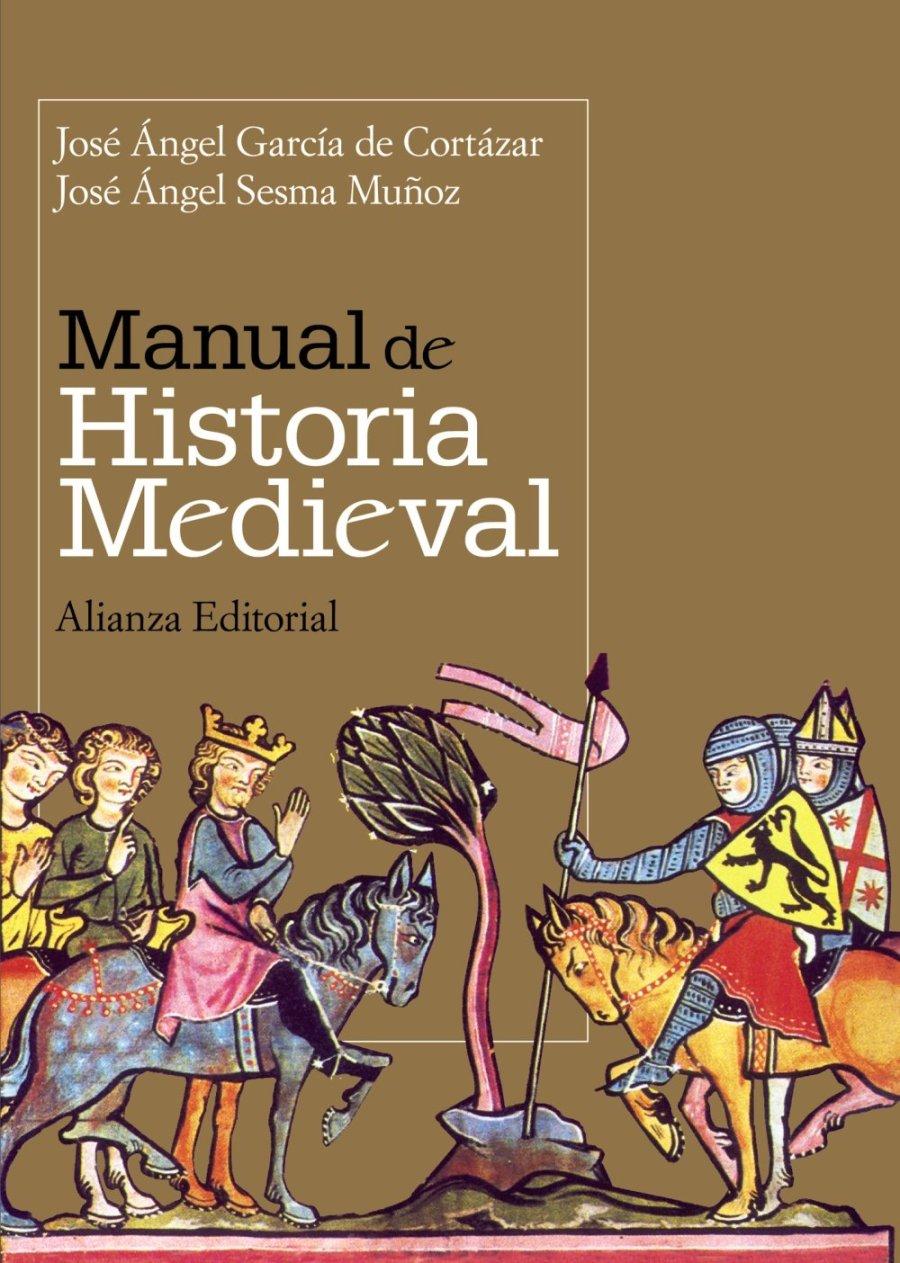Manual de historia medieval Book Cover
