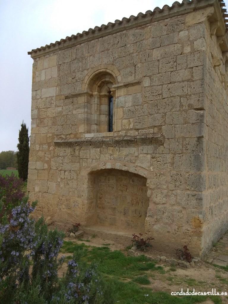 Fachada oriental Hospital San Nicolás de Puente Fitero
