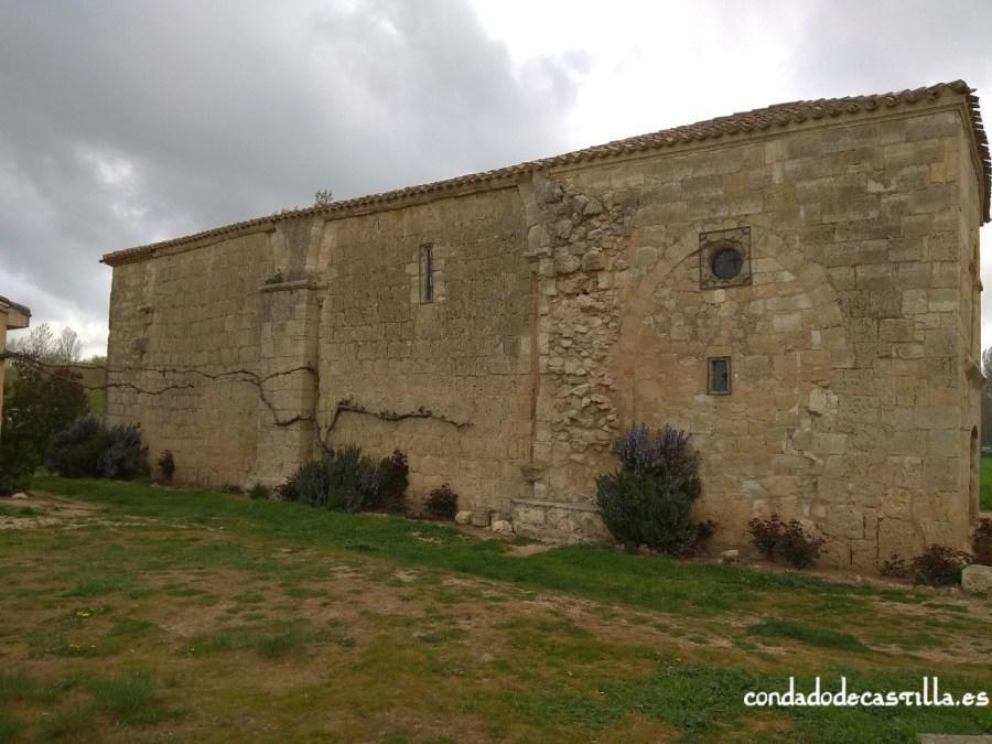 Fachada sur Hospital San Nicolás de Puente Fitero