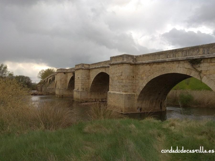 Puente Fitero en Itero del Castillo