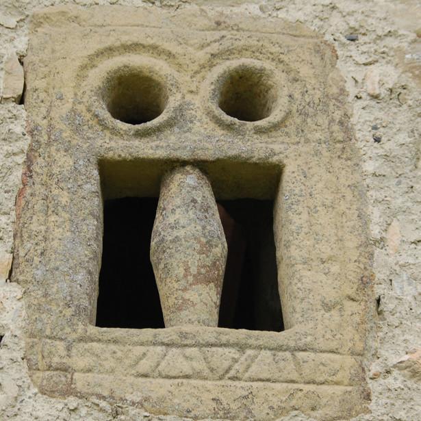 Ventana prerrománica de San Salvador de Zarandoa