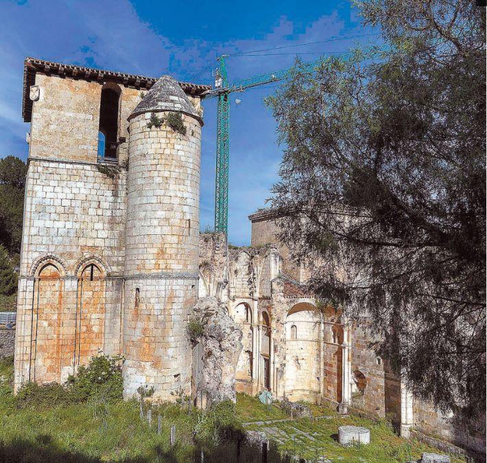 Obras en San Pedro de Arlanza