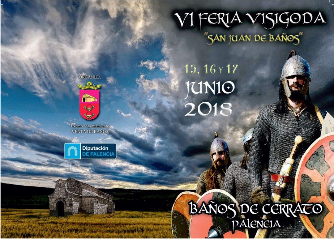 VI Feria visigoda en San Juan de Baños 2018